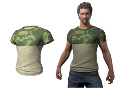绝地求生T恤,绝地求生国服限定T恤怎么获得?